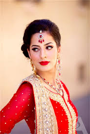 pakistani bridals red dresses with makeup ideas weddings eve