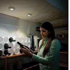 motion sensor under cabinet light led wireless motion sensor slim under cabinet lights 2 pack mr