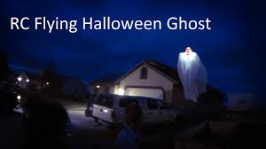 rc halloween flying ghost tricopter quadcopter drone youtube