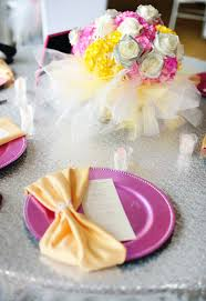 tutu centerpieces for baby shower glamorous pink tiaras tutus baby shower hostess with the