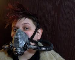 ventilation mask for painting fallout wasteland functional gas mask respirator steampunk
