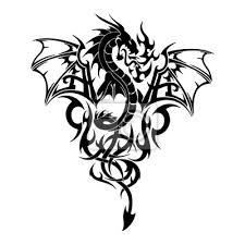 black dragon tattoos and designs