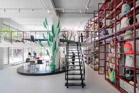 Interiors For The Home Mvrdv Creates Interiors For Groos Store Inside Post War Rotterdam