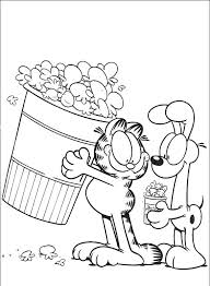 garfield friends coloring pages u2013 corresponsables
