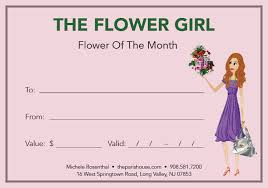 flowers of the month flower of the month subscription the house flower girl