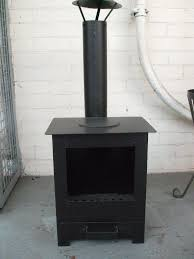 outdoor wood burning stove heater fire pit garden chiminea new