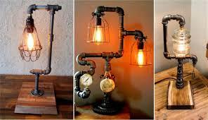 Pipe Design 20 Interesting Industrial Pipe Lamp Design Ideas