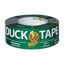 halloween duct tape duck brand original strength duct tape 1 88 in x 55 yds silver