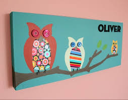 Owl Pictures For Kids Room by 16 Best Painting Owls Images On Pinterest Painted Owls Canvas