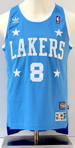 lakers light blue jersey kobe bryant la lakers light blue soul swingman 8 throwback jersey