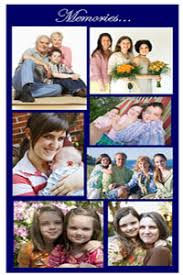 funeral help program a photo collage can turn a plain funeral program into a treasured
