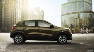renault kwid red colour 2016 renault kwid side hd wallpaper 3