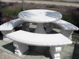 cement table and bench cement tables and benches decor discover all of kochiaseed new