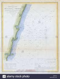 Virginia Coast Map by 1853 Map Stock Photos U0026 1853 Map Stock Images Alamy