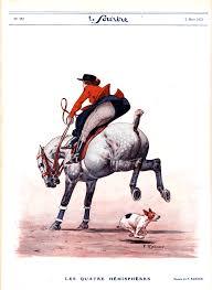le cheval nouveau u2013 art deco prints of horses u2013 equine ink