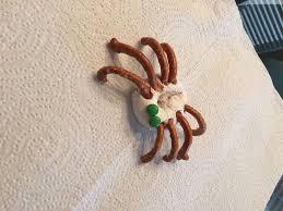 halloween crab halloween donut spider snack