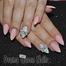 56 best almond nails images on pinterest make up stiletto nail