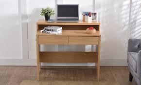 bureau console 2 tiroirs bureau console extensible avec 2 tiroirs groupon