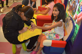 hair salons for kids in pakistan are a thing now and they are