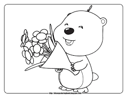 pororo coloring pages getcoloringpages com