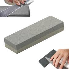 knife sharpening stone doublesided knife sharpener fine medium