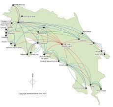 san jose airport on map costa rica transportation shuttles transfers rentals and flights