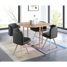 table avec chaise encastrable ensemble table ronde 4 chaises table ronde 4 chaises table de salle
