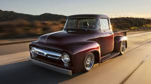 where are ford trucks made this shop is producing a line of brand 1956 ford trucks
