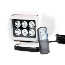 battery powered work lights 30w rechargeable led work light 12v battery power wireless remote