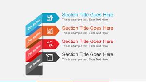 animated agenda slide design for powerpoint slidemodel