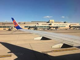 Msp Airport Map Sun Country 737 700 Economy Class San Diego To Minneapolis