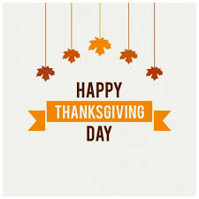 white background for thanksgiving day vector free