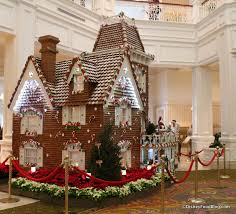 2014 grand floridian gingerbread house and club gingerbread