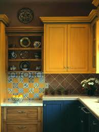 kitchen island different color than cabinets ceramic subway tile