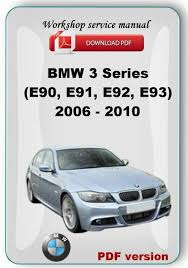 bmw 335d service manual bmw e90 service manual ebay