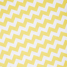 recycled yellow chevron white wrapping paper by