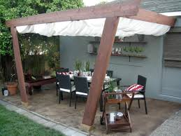 Outdoor Patio Windscreen by Free Standing Canvas Patio Covers U2014 Home Landscapings Ideas