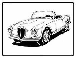1955 lancia aurelia b20 gt car coloring pages bing images