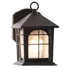 home decorators collection lighting home decorators collection brimfield 1 light aged iron outdoor