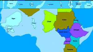 Burundi Africa Map by Puzzle Africa Map And All The African State Africa Is Not Wild