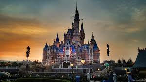 5 must see attractions unique to shanghai disneyland sunset sh disneyland castle wm