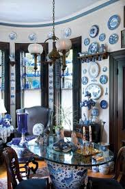 Blue And White Decorating Blue U0026 White Decorating Schemes For Old Houses Old House