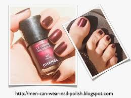 men can wear nail polish 2013