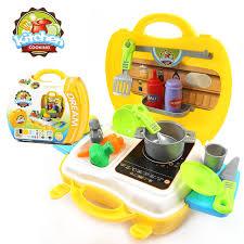 valise cuisine divers styles pretend play repas cuisine caisse enregistreuse outils