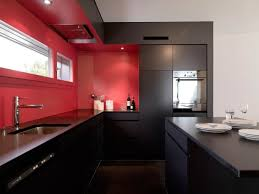 perfect red kitchen walls with white cabinets 22 upon home