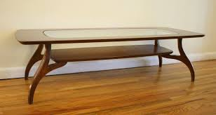 glass top coffee tables with wood base