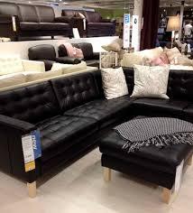 ikea leather sofa ikea leather sofa bonners furniture