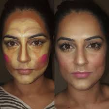 clown contouring makeup 7