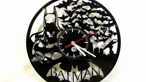 Design Clock by To Design Studio Batman Vinyl Record Wall Clock Review Youtube