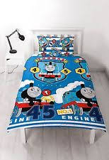 Train Cot Bed Duvet Cover Thomas The Tank Engine Duvet Set Ebay